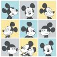 PAPEL PINTADO Disney Mickey pictures turquesa, amarillo
