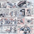 PAPEL PINTADO Comic Superman Classic Gris