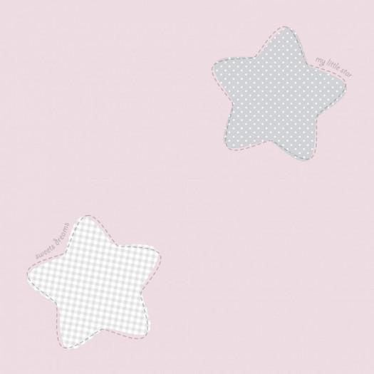 PAPEL PINTADO Polaris rosa