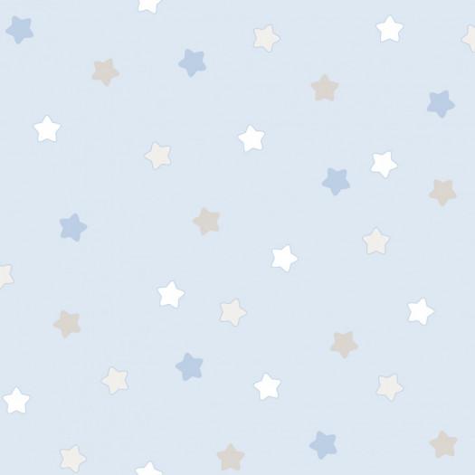 PAPEL PINTADO Étoiles azul