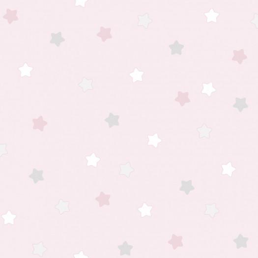 PAPEL PINTADO Étoiles rosa