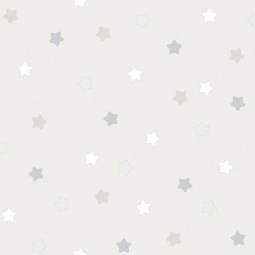 PAPEL PINTADO Étoiles beige