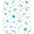 TELA Flores Blanca