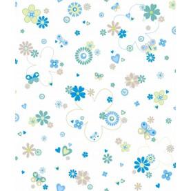 TELA Flores Beige