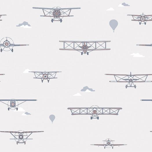 PAPEL PINTADO Biplane Neutro
