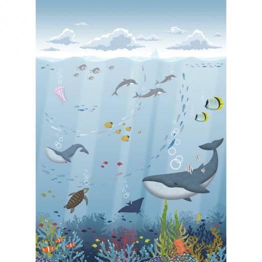 MURAL DIGITAL Cousteau