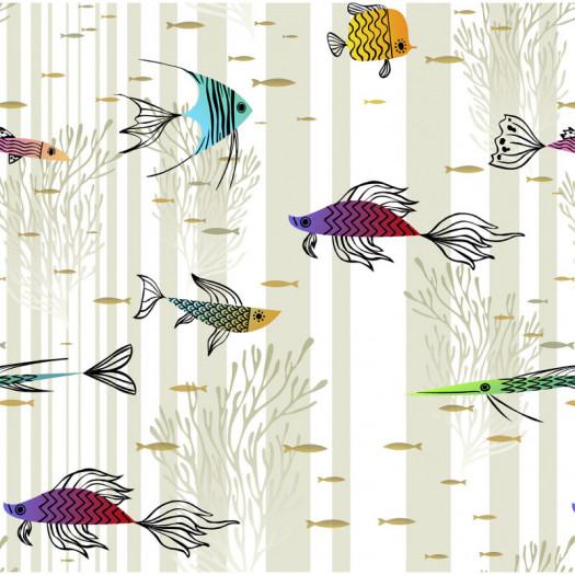 PAPEL PINTADO TRULLY FISH LIGHT