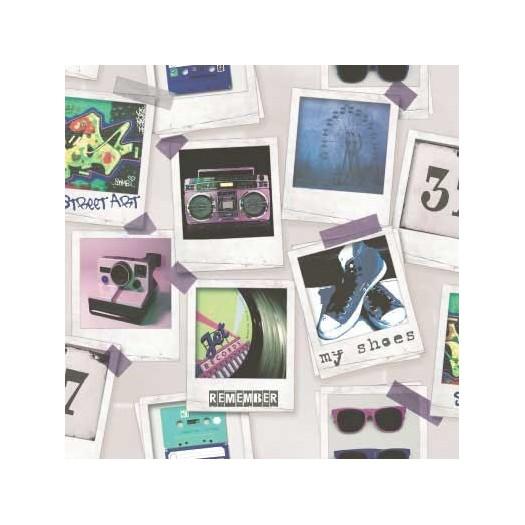 PAPEL PINTADO Fotos Multicolor A