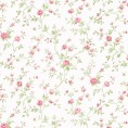 PAPEL PINTADO Flor pequeña Rosa